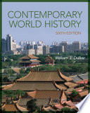 Cover of Contemporary World History