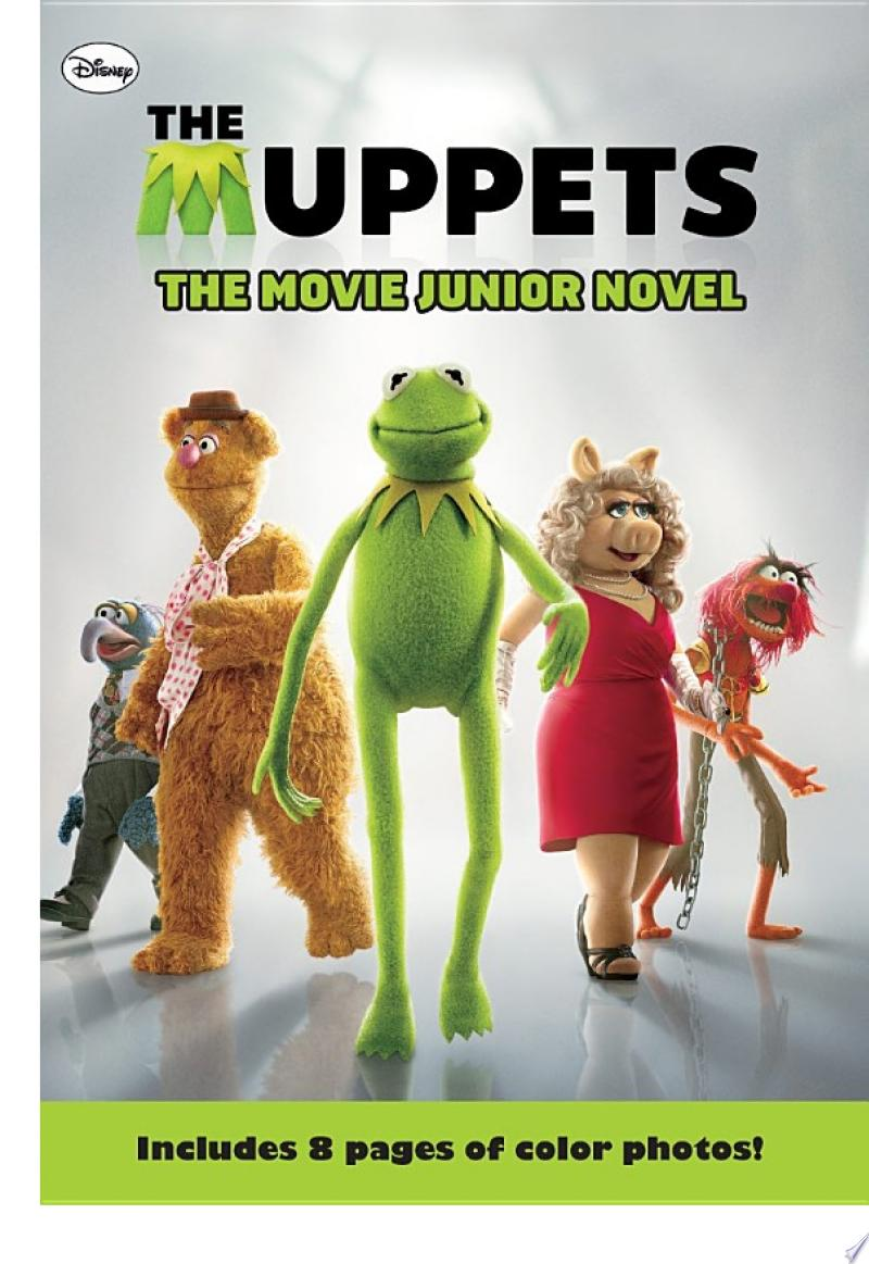 The Muppets The Movie Junior Novel banner backdrop