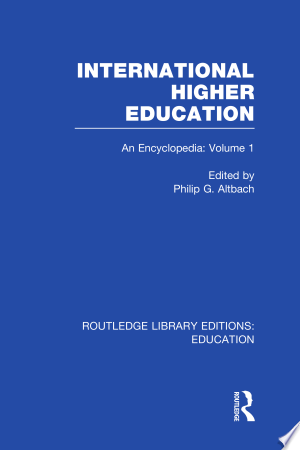 Download International Higher Education Volume 1 Free Books - E-BOOK ONLINE