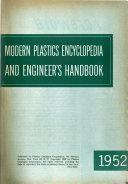 Modern Plastics Worldwide World Encyclopedia, with Buyer's Guide