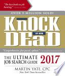 Knock  em Dead 2017 Book