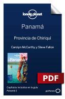 Panamá 1_7. Provincia de Chiriquí
