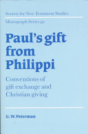 Paul s Gift from Philippi