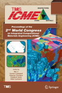 Proceedings of the 2nd World Congress on Integrated Computational Materials Engineering (ICME) [Pdf/ePub] eBook