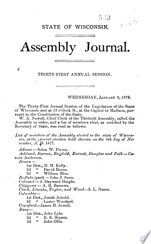 Read Online Journal of Proceedings Full Book