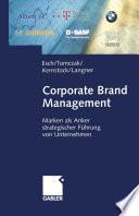 Corporate Brand Management