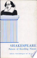 Shakespeare Pattern Of Excelling Nature