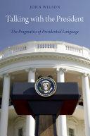 Talking with the President [Pdf/ePub] eBook