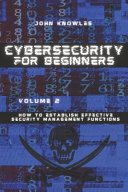 Cybersecurity For Beginners Book
