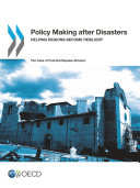 Policy Making after Disasters Helping Regions Become Resilient – The Case of Post-Earthquake Abruzzo