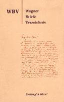 Wagner Briefe Verzeichnis