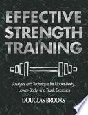 Effective Strength Training Book PDF