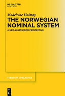 The Norwegian Nominal System Pdf/ePub eBook