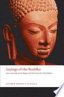 Sayings of the Buddha Book PDF