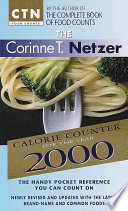 The Corinne T. Netzer Calorie Counter for the Year 2000
