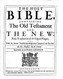 The Holy Bible, Etc. (The Psalms of David in Metre [allowed by the Authority of the General Assembly of the Kirk of Scotland].).