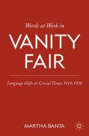 Words at Work in Vanity Fair [Pdf/ePub] eBook
