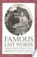 Famous Last Words Book PDF