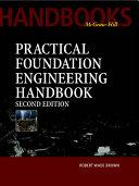 Practical Foundation Engineering Handbook
