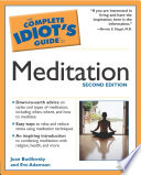 The Complete Idiot S Guide To Meditation 2nd Edition