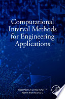Computational Interval Methods for Engineering Applications Book