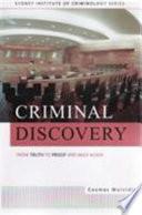 Criminal Discovery Book PDF