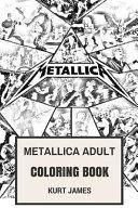 Metallica Adult Coloring Book