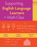Supporting English Language Learners in Math Class  Grades K 2