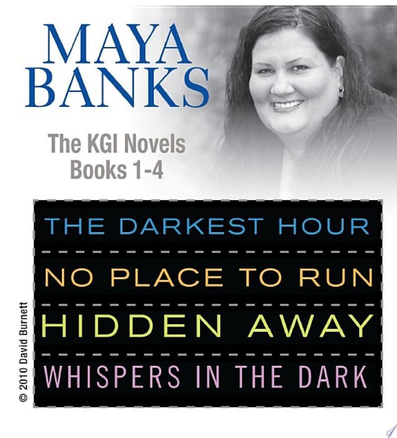Maya Banks KGI series 1- 4 banner backdrop