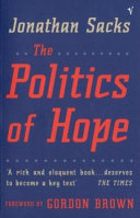 The Politics of Hope