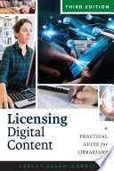 link to Licensing digital content : a practical guide for librarians in the TCC library catalog