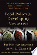 Food Policy for Developing Countries Book
