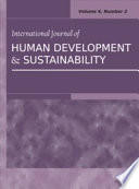 International Journal of Human Development and Sustainability: Vol.4, No.2