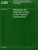 Pdf Standards for Internal Control in the Federal Government