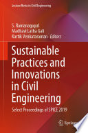 Sustainable Practices and Innovations in Civil Engineering