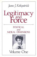 Political and moral dimensions