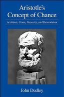 Aristotle's Concept of Chance Pdf/ePub eBook