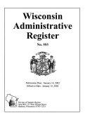Wisconsin Administrative Register