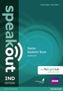 Speakout Starter 2nd Edition Students' Book for DVD-ROM and MyEnglishLab Pack