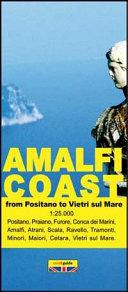 Amalfi Coast. Tourist Map of the Amalfi Coast