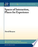 Spaces Of Interaction Places For Experience Book PDF