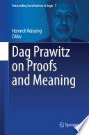 Dag Prawitz on Proofs and Meaning Book