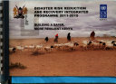 Disaster Risk Reduction and Recovery Integrated Programme 2011-2015