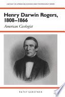 Henry Darwin Rogers 1808 1866