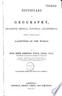 Dictionary of Geography