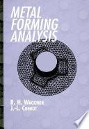 Metal Forming Analysis Book
