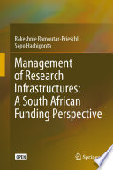 Management of Research Infrastructures  A South African Funding Perspective