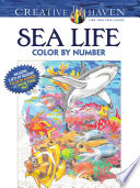 Creative Haven Sea Life Color By Number Coloring Book PDF