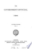 The Government Official  A Novel