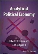 Analytical Political Economy Pdf/ePub eBook